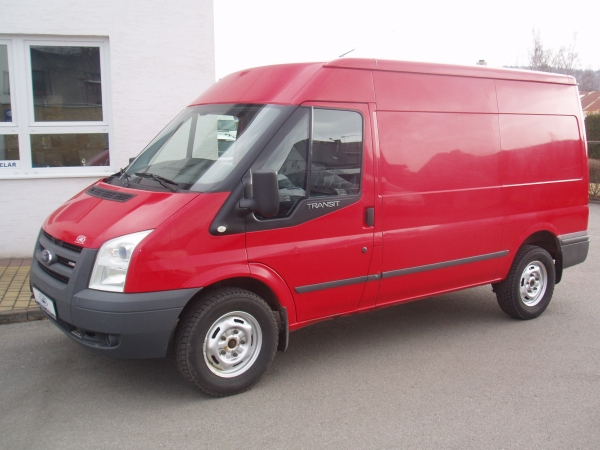Ford Transit 350M 2,4 TDCi 85kW/115PS Klimatizace Servisní knížka - Prodáno