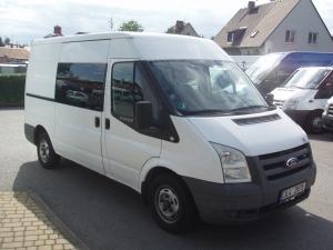 Ford Transit 300MWB 2,2TDCi 81kW/110PS L2H2 Klima Tempomat 6míst - Prodáno