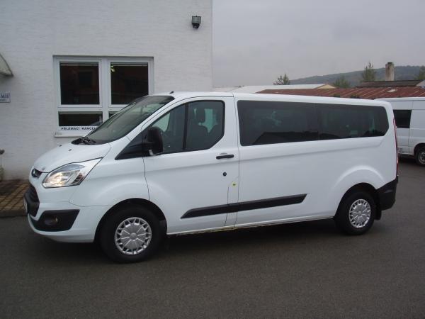 Ford Transit Custom 310L L2H1 2,2TDCi 92kW/125PS Kombi 9míst Trend 2xKlimatizace Tempomat - Prodáno