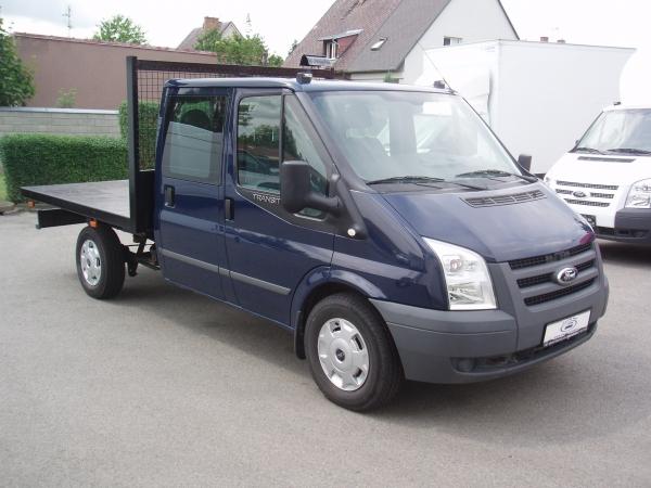 Ford Transit 350MWB 2,4TDCi 103kW/140PS 4x4 valník dvojkabina 7 míst - Prodáno