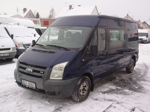 Ford Transit 300LWB L3H2 2,2TDCi 81kW/110PS Kombi Van 6míst - první registrace 06/2007