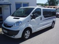 9. Opel Vivaro 2,0CDTi 84kW/115PS 9-míst minibus - Autopůjčovna