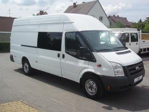 Ford Transit LWB EF Jumbo 2,4 TDCi 140 PS Klimatizace - Prodáno