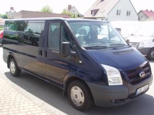 Ford Transit Kombi 2,2TDCi MWB L2H1 85kW/115PS Minibus 8-9 míst Trend Servisní knížka - Prodáno