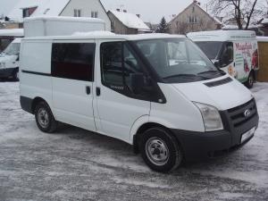 Ford Transit 260 SWB 2,2 TDCi 110 PS Klimatizace - 6 míst - Prodáno