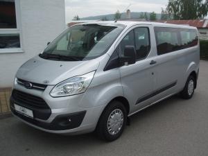 Ford Transit Custom 300L 2,2TDCi 125PS minibus L2H1 9-míst Klima Tempomat PDC Serviska - v provozu od 06.06.2014