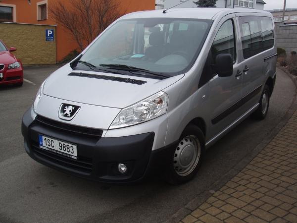 Peugeot Expert III Tepee 1,6HDi 66kW/90PS Kombi 9-míst Kimatizace 2xBoční dveře Defendlock Servisní knížka - Prodáno