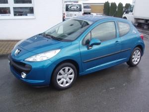 Peugeot 207 1,4 HDi 50kW/68PS Klimatizace ABS - Prodáno