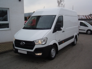 Hyundai H350 Van 5,5m 2,5CRDi 110kW/150PS Classic Paket Profi Klima Tempomat Parkovací kamera 1.100km - Prodáno