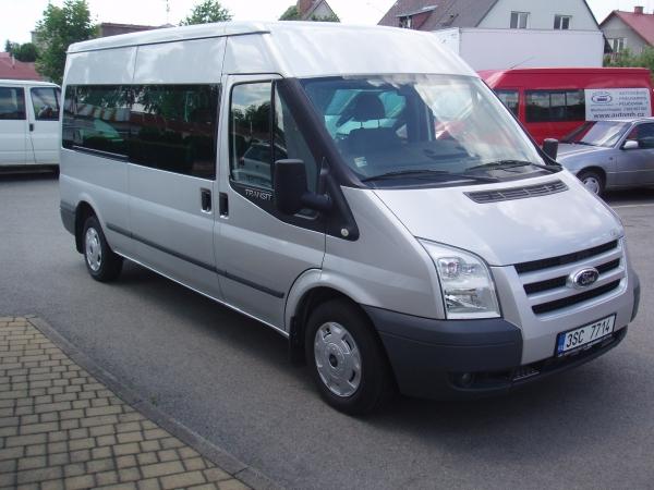 Ford Transit 300LWB L3H2 Trend 2,2TDCi 115PS minibus 9 míst Klimatizace - Prodáno