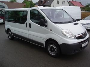 Opel Vivaro 2,0CDTi 90PS Kombi minibus 9 míst L2H1 - v provozu od 10.01.2012