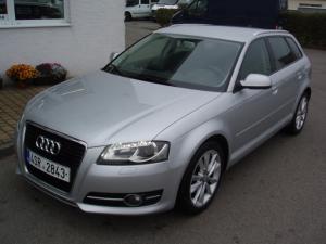 Audi A3 Sportback 2,0TDi 140PS - xenony, dvouzónová klima, navigace, vyhřívaná sedadla - Provoz 02/2012