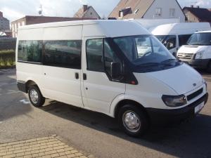 Ford Transit 280M 2,0 TDi 85 PS minibus 9 míst Střední střecha Střední délka L2H2 Klimatizace - Prodáno