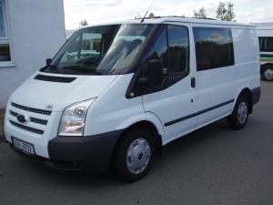 Ford Transit 280 SWB L1H1 2,2TDCi 74kW/100PS Van 6míst Trend Klimatizace Tempomat - Prodáno