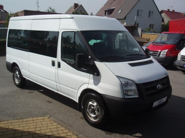 Ford Transit 2,4 TDCi 85kW/115PS 330L Dlouhý Střední střecha Minibus 9 míst Klimatizace - Prodáno