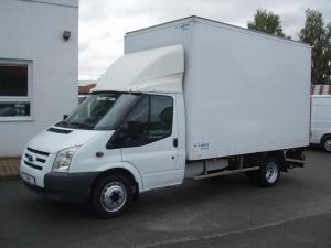 Ford Transit 350LWB EF 2,4TDCi 85kW/115PS skříň s hydraulickým čelem Klimatizace Tupláky - Prodáno