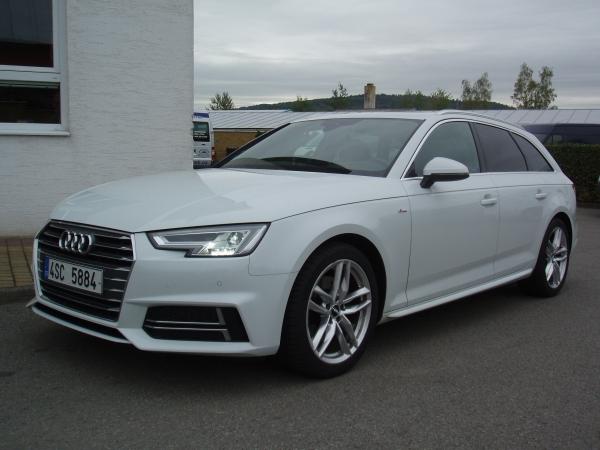 Audi A4 Avant S-line 2,0TDI 150PS Navigace Klima 3-Zóny Panorama Virtuální Kokpit - PRODÁNO