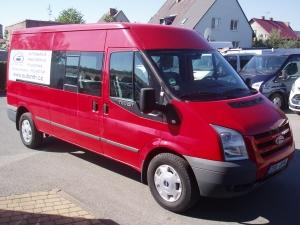 Ford Transit 350LWB L3H2 2,4TDCi 103kW/140PS minibus 9míst Dvojitá Klima Parkovací kamera Navi - Prodáno