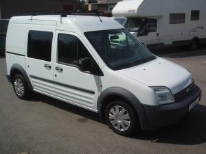 Ford Transit Connect 220 LWB 1,8 TDCi 75PS Vysoký Dlouhý 2 x Šoupací dveře 5 Míst Klimatizace - Prodáno