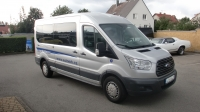 7. Ford Transit 350LWB 2,2CDTi 92kW/125PS Minibus 9 míst - Autopůjčovna