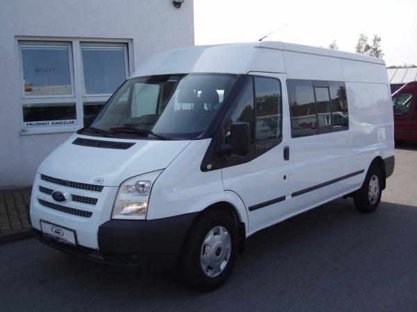 Ford Transit 330LWB Van 6míst L3H2 2,2TDCi 92kW/125PS Trend Klima Navigace Tažné zařízení - Prodáno