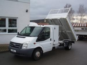 Ford Transit 350LWB EF 2,4TDCi 103kW/140PS valník sklápěč jednokabina 3,2m Klima Tupláky Tažák - Prodáno