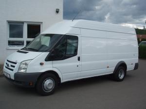Ford Transit 350LWB EF L4H3 2,4TDCi 103kW/140PS Trend Jumbo Klima Tupláky Tempomat Parkovací senzory - Prodáno