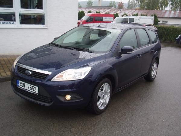 Ford Focus Kombi 2,0TDCi 81kW/110PS automatická převodovka Klima Navi Serviska - Prodáno