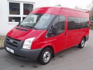 Ford Transit 280 MWB minibus 9 míst 2,2 TDCi 85PS střední střecha - Prodáno