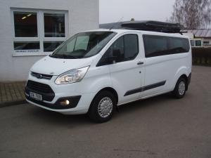 Ford Tourneo Custom 310L 2,2TDCi 92kW/125PS L2H1 Kombi minibus 9 míst Klima - Rezervace